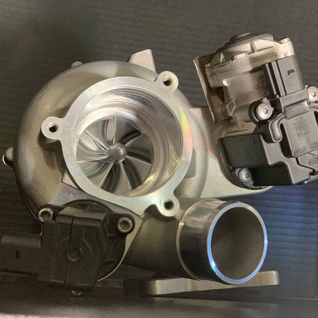 Xona IS38 Hybrid turbocharger