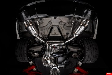 APR Catback Exhaust System with Center Muffler - 4.0 TFSI - C7 RS6 and RS7