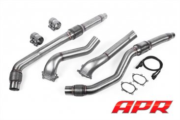 APR Cast Race DP Exhaust System for the 4.0 TFSI